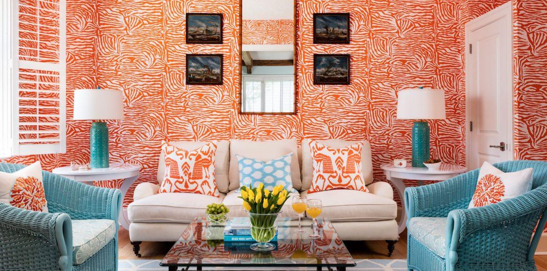 choose wallpaper over paint